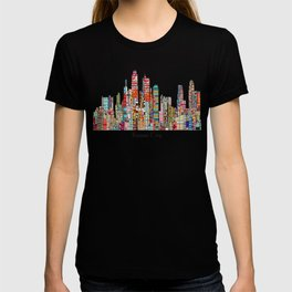 kansas city Missouri skyline T-shirt