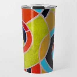 Composition #22 by Michael Moffa Travel Mug