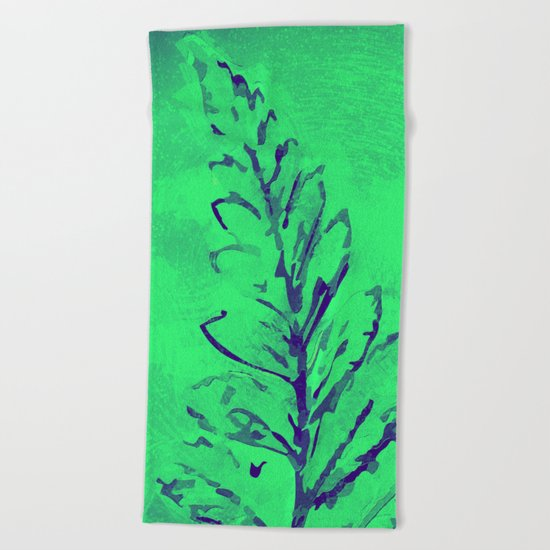 Painting I Beach Towel