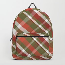 Olive this Plaid Backpack