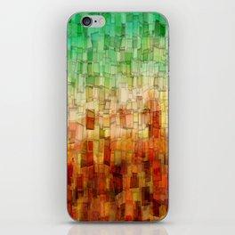 Golden Tide Mosaic iPhone Skin