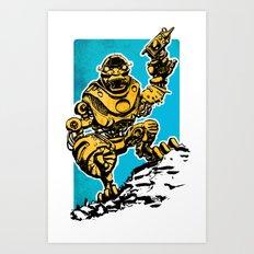 Roboman Art Print