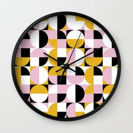 Abstract and geometric 14 Wall Clock