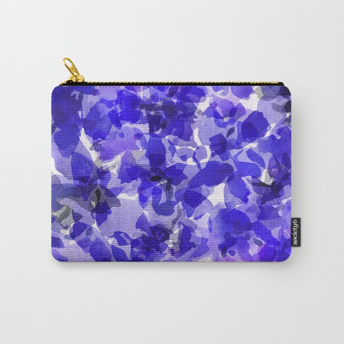 Royal Blue Delphiniums Carry-All Pouch