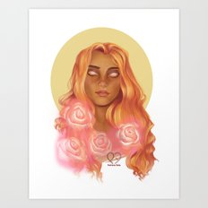 Illuminated Art Print