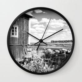 The Mill Kukkola river 5 Wall Clock