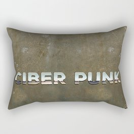Ciber Punk Rectangular Pillow