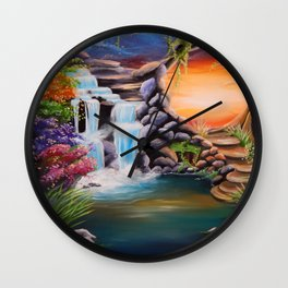 The first step Wall Clock