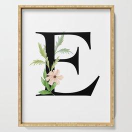 Botanical E Serving Tray