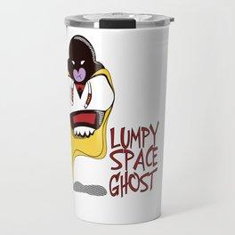 Lumpy Space Ghost Travel Mug