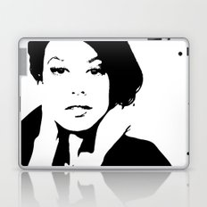 Black & White Beauty Laptop & iPad Skin