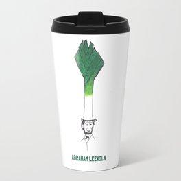 Abraham Leekoln1 Travel Mug