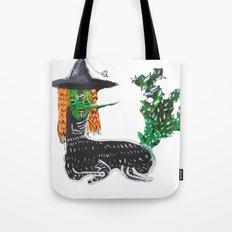 BRUJA DE NOPALES/CACTUS WITCH Tote Bag