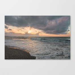 Those sunsets that wish you hope.. Canvas Print