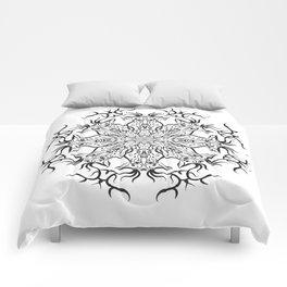 Deer Mandala Comforters