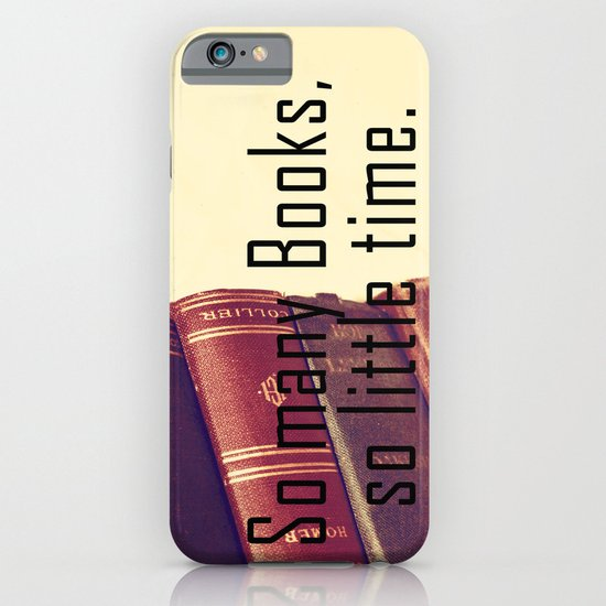 So many Books iPhone & iPod Case