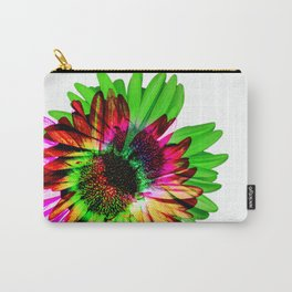 Double Daisy Carry-All Pouch