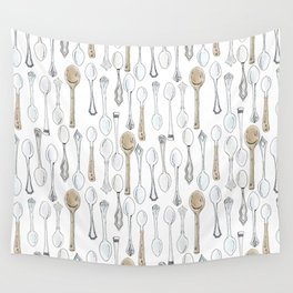 Spoons Wall Tapestry