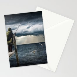 The Fish Are In Stationery Cards