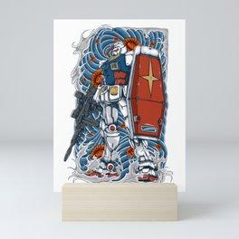 Gundam Mini Art Print