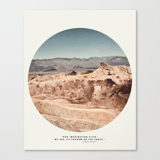 Death Valley Imaginaries Canvas Print