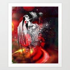 LE VIEIL AMANT Art Print