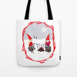 Snow and Stories Tote Bag