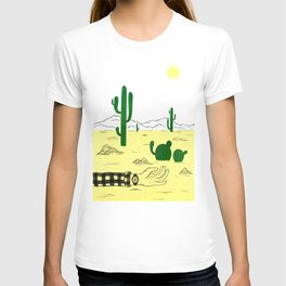 Man & Nature - The Desert T-shirt