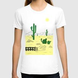 Man & Nature - The Desert T-shirt
