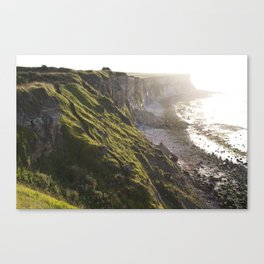 The Beautiful Cliffs of France Canvas Print