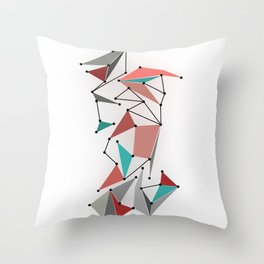 The Grid Throw Pillow