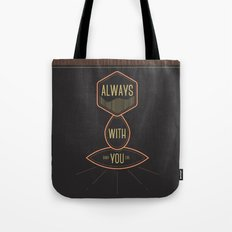 Always with you baby girl Tote Bag
