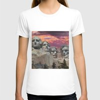 rushmore T-shirts featuring Great Americans by Exquisite Photography by Lanis Rossi