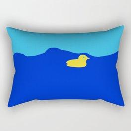 Duck at Sea Rectangular Pillow