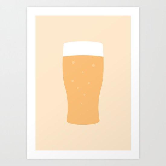 #80 Beer Art Print