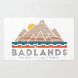 Badlands National Park, South Dakota Rug