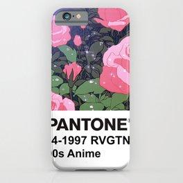 PANTONE 90s Anime - Revolutionary Girl Utena iPhone Case