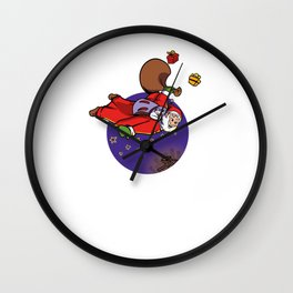 Basejump Merry Christmas Wall Clock