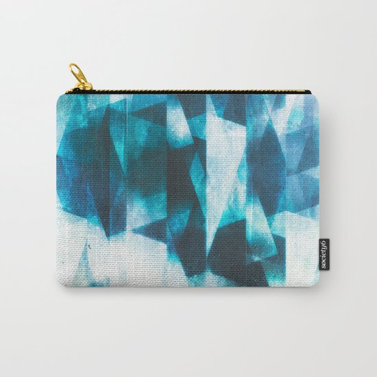 Icy icebergs Carry-All Pouch