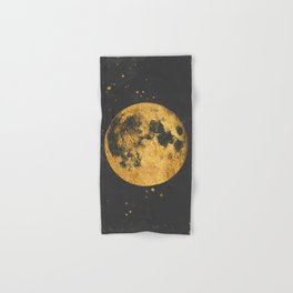 Gold Moon Hand & Bath Towel