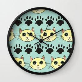 Kooky Cats Wall Clock