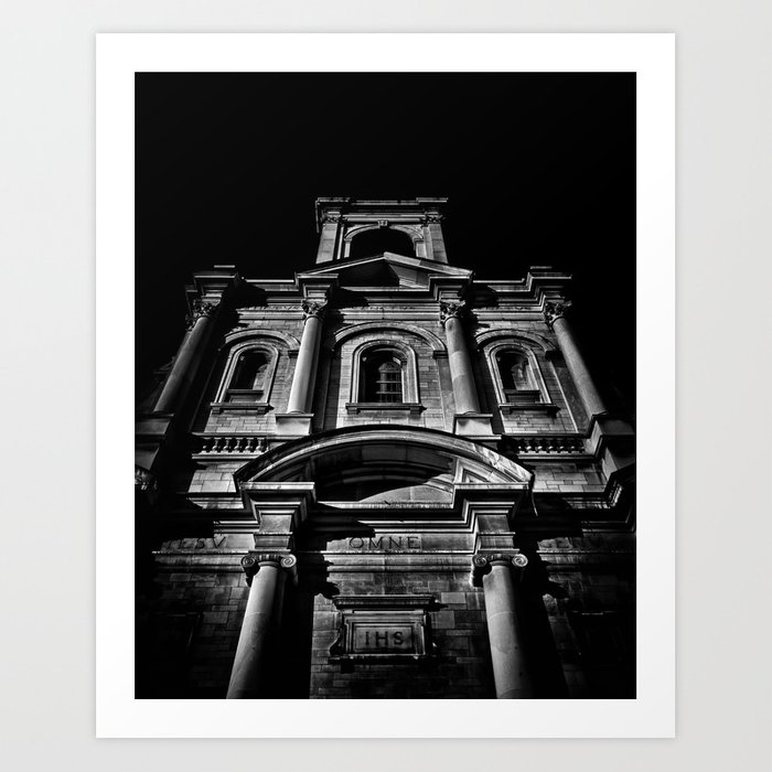 Holy name parish no 71 gough ave toronto canada art print