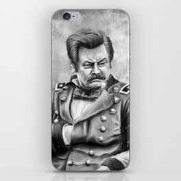 Ronald Ulysses Swanson iPhone Skin