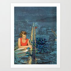 Painting our City Art Print