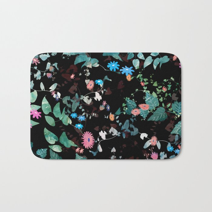 Great Nature Explosion at Night Bath Mat