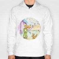 le petit prince Hoodies featuring Le petit prince by Colorful Simone