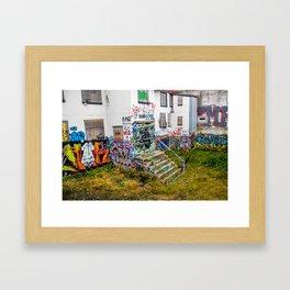 Trap House Framed Art Print