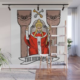 The hierophant Wall Mural