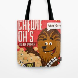 Chewy ohs Tote Bag