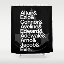 Creed Shower Curtain